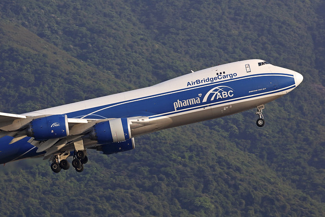 VQ-BVR, Boeing 747-8F, Airbridge Cargo, Hong Kong