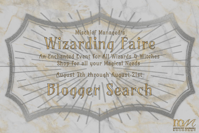 Mischief Managed's 2021 Wizarding Faire - Blogger Search