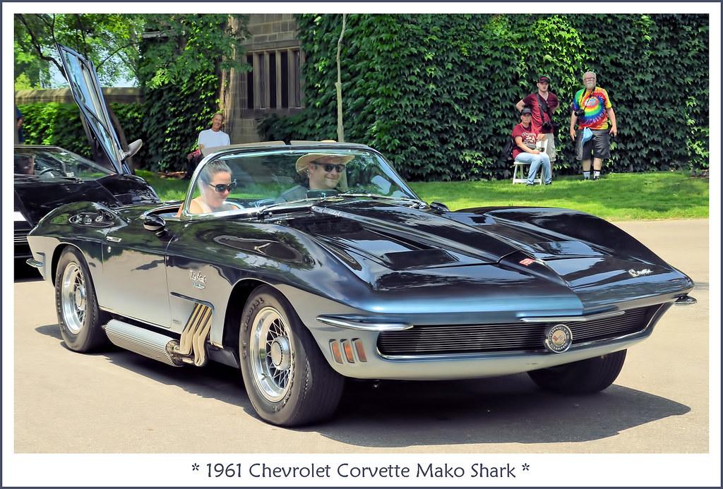 1961 Chevrolet Corvette Mako Shark Concept