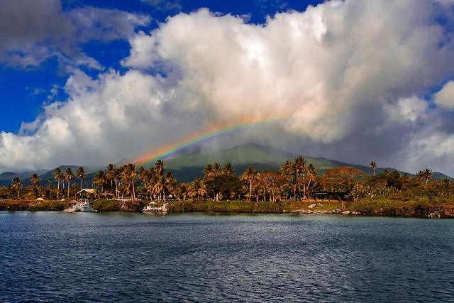 Rainbow in Fiji