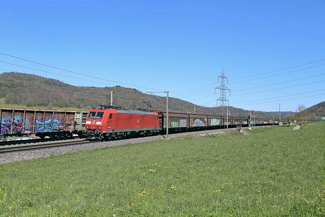 DB Cargo 185 134 Frick (CH)