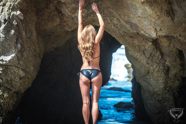 Beautiful Venus Goddess Malibu Beach California Swimsuit Bikini Model! Pretty Woman Natural Light Portraits in Nature! Helen from Homer's Iliad! Fine Art 45EPIC 45SURF Portrait Fitness Model Photography!