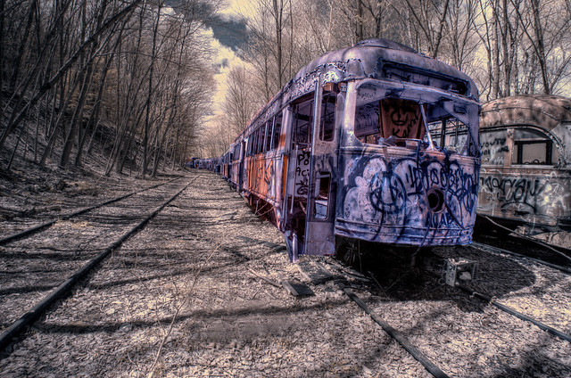 Trolley Graveyard 5 (IR)
