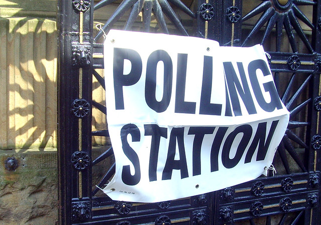 It's polling day in Britain