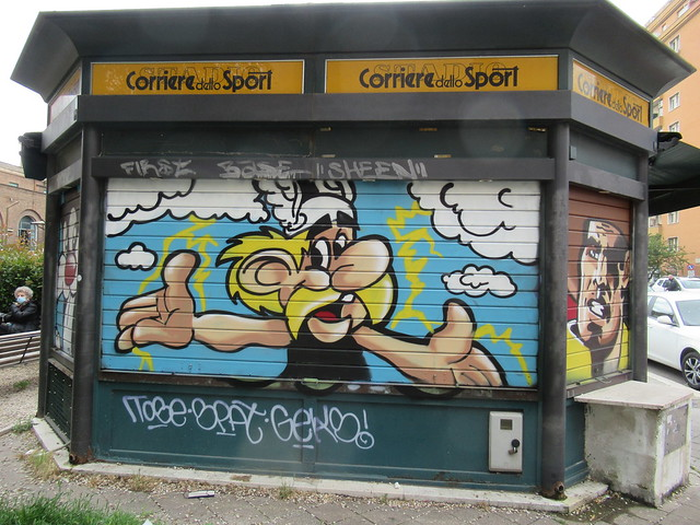 Asterix's newstand