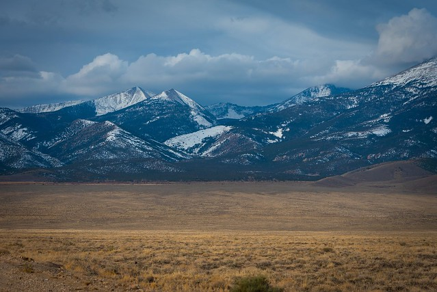 Snake Range and the Great Basin, Nevada
