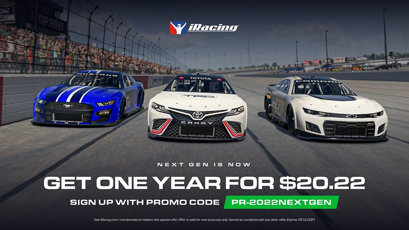 iRacing New Members Promoted