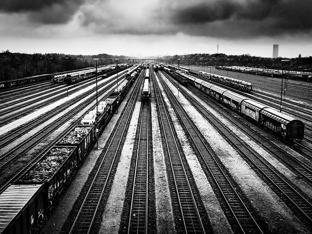Munich Freight Depot Noir (On Explore)