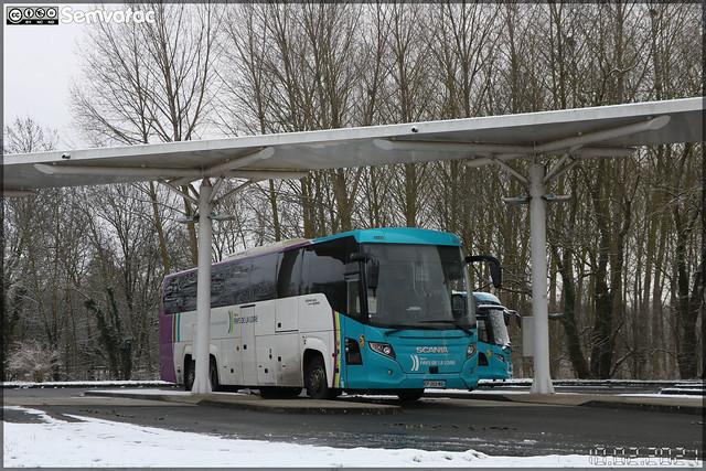 Scania Touring – Transdev – STAO 72 (STAO PL, Société des Transports par Autocars de l'Ouest – Pays de la Loire) / Aléop – Pays de la Loire n°25611