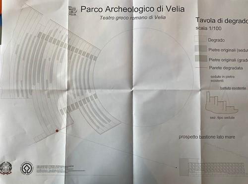 ROMA ARCHEOLOGICA & RESTAURO ARCHITETTURA 2021. Sen. Margherita Corrado, archeologa e membro della Commissione Cultura, tour del Parco di Velia e Paestum con visita alle attività archeologiche e di restauro. Fonte: Sen. M. Corrado / Facebook (05/2021).
