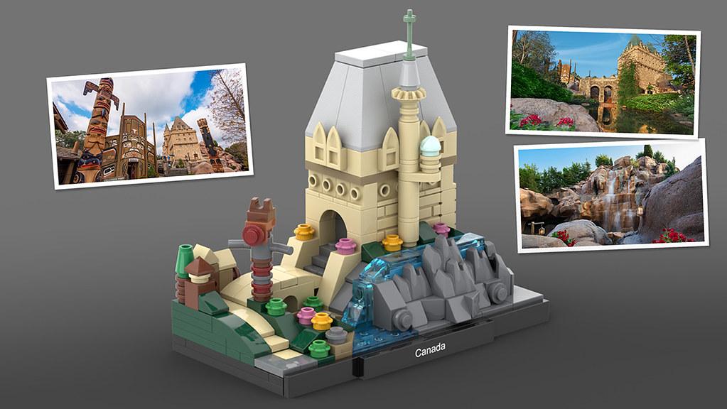 LEGO Epcot Canada