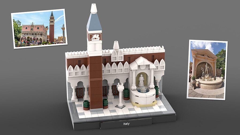 LEGO Epcot Italy