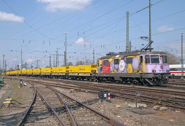 SBB Re 4/4 420 307 Basel Badischer Bahnhof