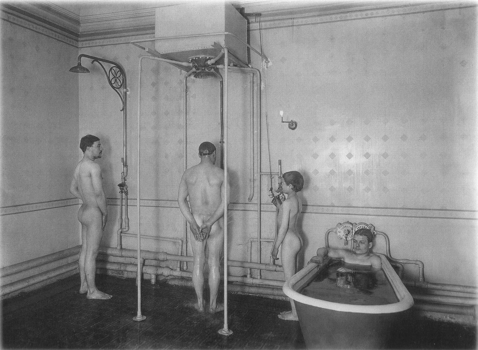 1914. Бани братьев Егоровых. Ванная и душевые установки