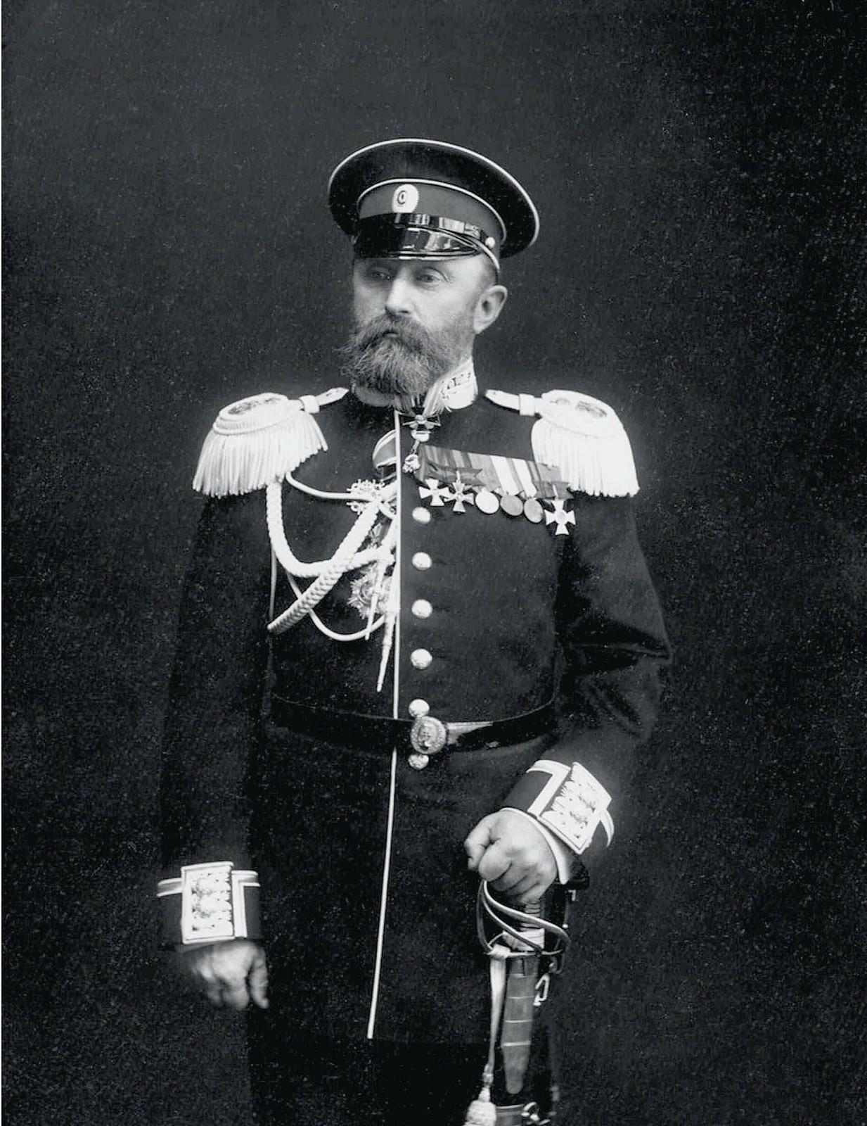 1904. В.Ф.Руднев, команир крейсера «Варяг»