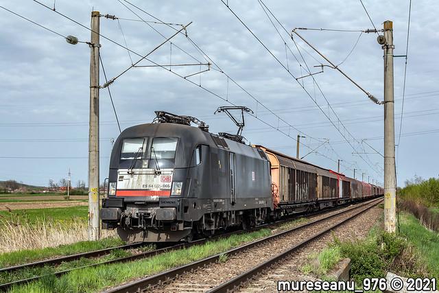 ES64U2-065 / LZB 182 565 MRCE / DB Cargo Romania