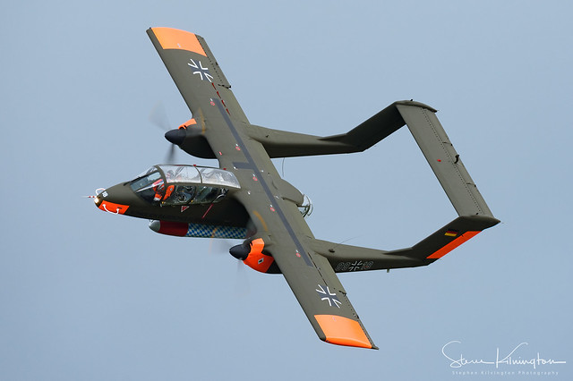 G-ONAA (99+18) - North American Rockwell OV-10B Bronco