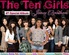 The Ten Girls' 4th Special Album Jonas Brothers Cover