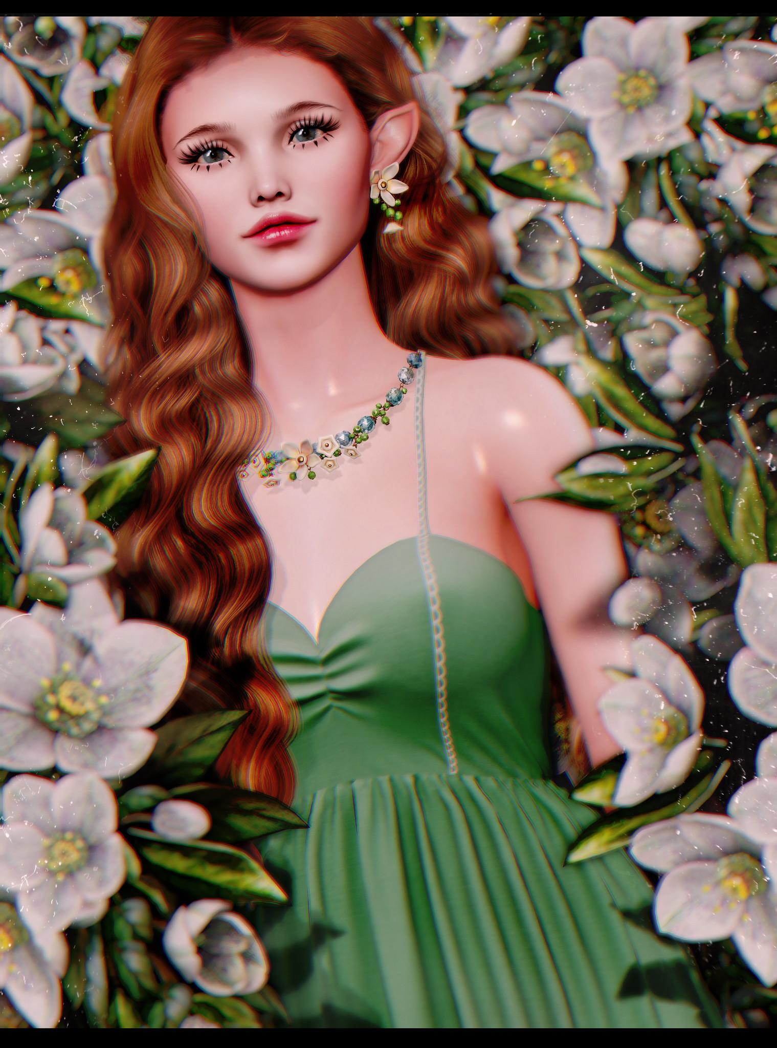 Flower girl...