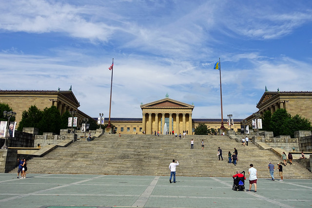Rocky Steps &  the Philadelphia Museum of Art in Philadelphia, PA