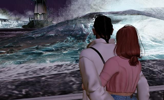 La mer se déchaine