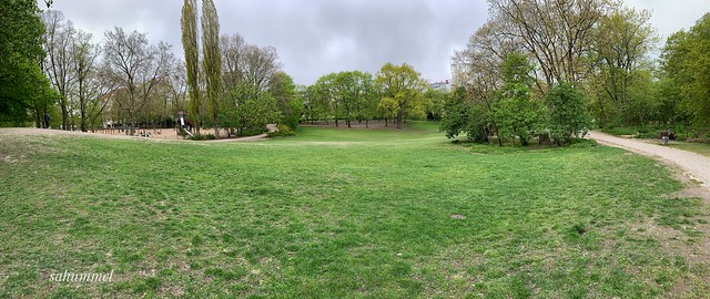alone in the park - Regentag