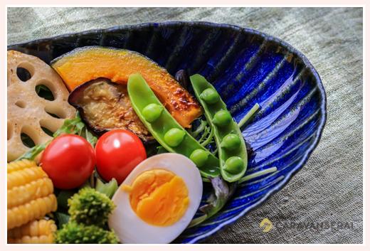 ヒシエム水野陶器さまの商品のイメージカット撮影 ブルーのお皿