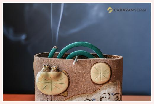 蚊取り線香用鉢
