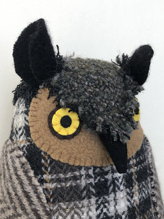 Grey (plaid) Owl