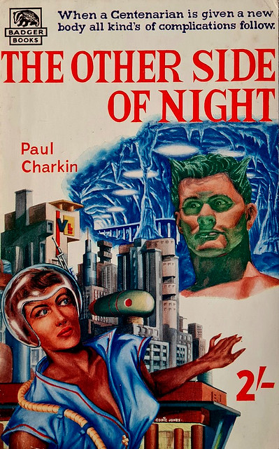 The Other Side Of Night - Badger Books # SF 24 - Paul Charkin - Jan 1960