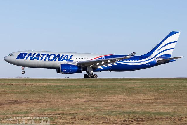 N819CA National Airlines Airbus A330-243 (HHN - EDFH - Hahn)