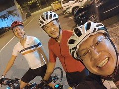 Night ride 6 May