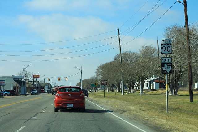 US90 West FM359 North Signs
