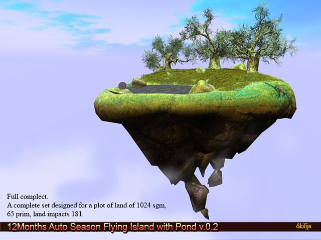 !Skifija 12Months Auto Season Flying Island v02