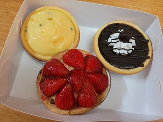 Tarts (Passionfruit, Chocolate, Strawerry) from Flour of Life