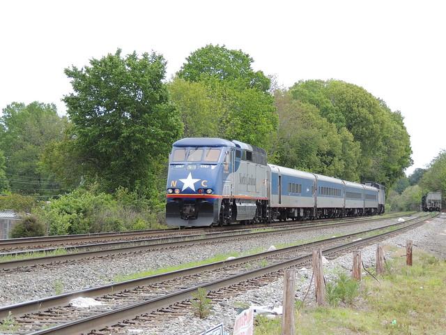 Rear unit on Raleigh bound Piedmont