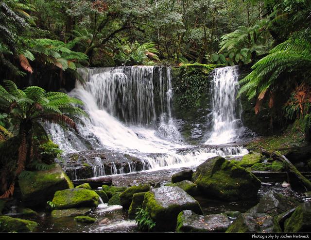 Horseshoe Falls, Mount Field NP, Tasmania, Australia
