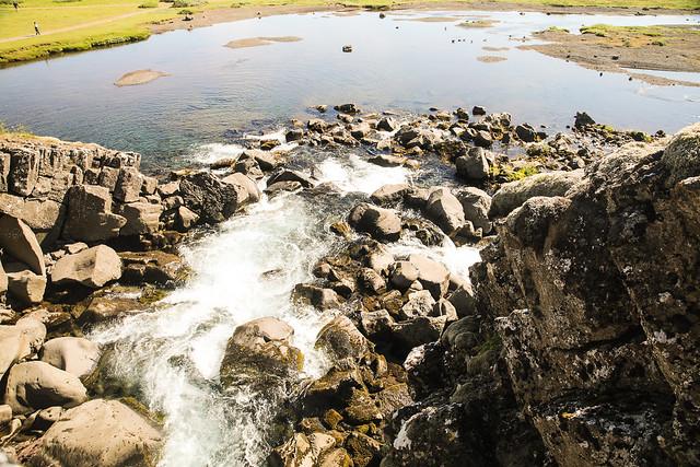 Falls Leading To Drekkingarhylur