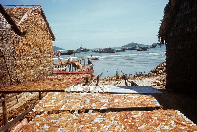 Fishing Village, Phu Quoc Island, 1968