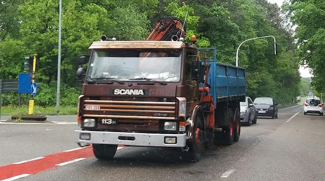 Scania 113H 360 Euro1 Daycab 3-Series 6x2 (1992) - Vlaanderen Gewest, België