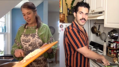 Melinda Lopez and Joel Perez in Black Beans Project