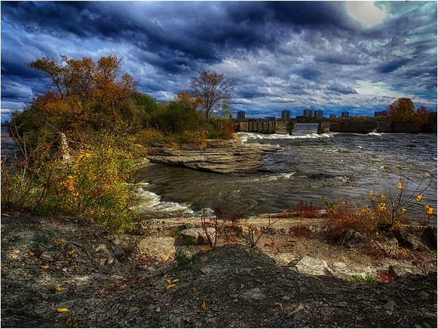 on the banks of the Ottawa River, Canada