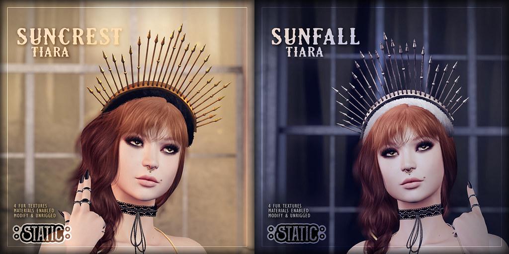 Suncrest & Sunfall Tiaras
