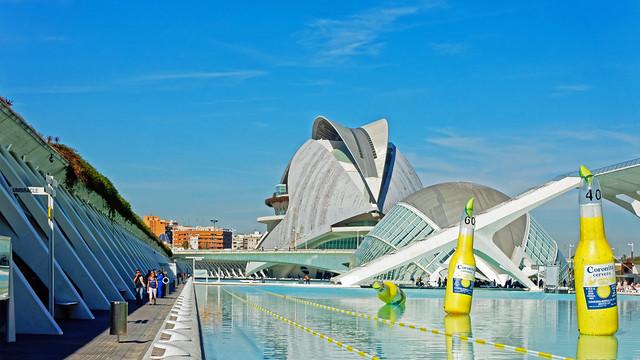 Arts & Science Area - Valencia (Fuji Velvia) Sony RX100M3