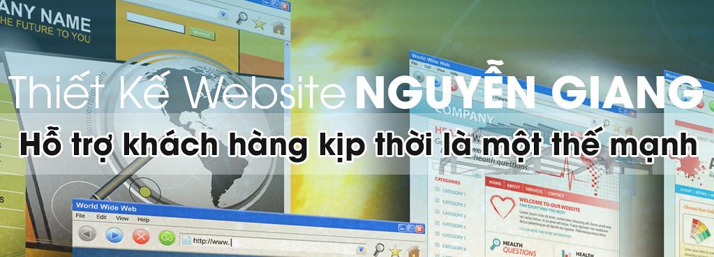 Thiết Kế Website tại TP. Cần Thơ - NGUYỄN GIANG 0915 32 6788