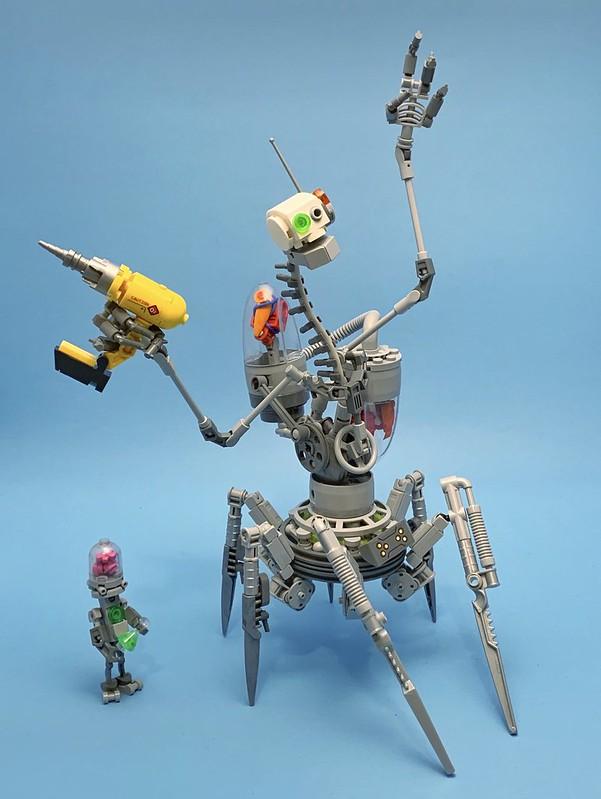 Dr. l.0 Bot Omni III & Specimen 34