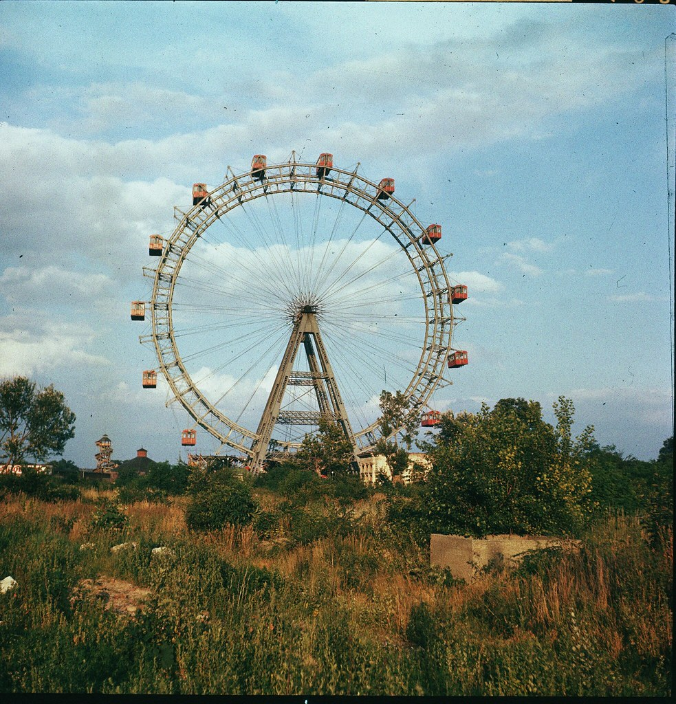39. Колесо обозрения Ризенрад в Вене
