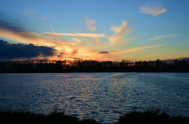 Unterföhring - Feringasee Sunset