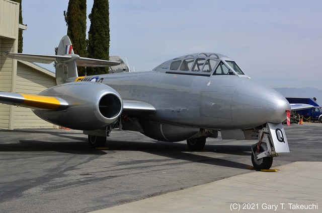Planes of Fame Air Museum - Gloster Meteor T.7
