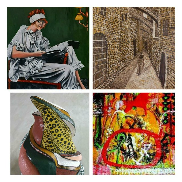 ציירות מודרניות ציירת ישראלית עכשווית מודרנית שרה זלוטי רחל פרנק יוצרת אמנית איילת בוקר פרידה פירו